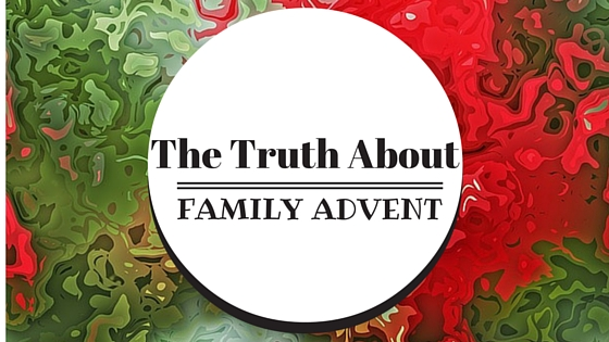 It is day 22 of Advent and here is what celebrating actually looks like for us as a family of four with a three-year-old and 17-month-old...