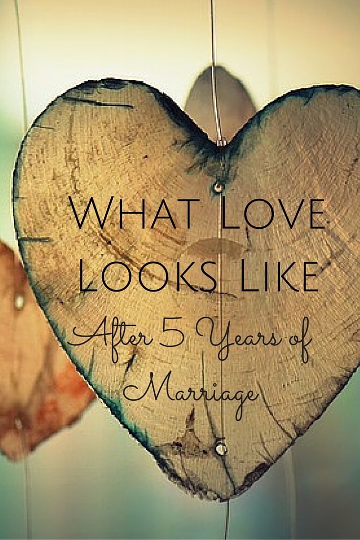 What Love Looks Like After 5 Years of Marriage – Scraping Raisins