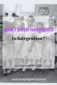 Day 21: What Ever Happened to Integration? (Part 1) {31 Days of #WOKE}