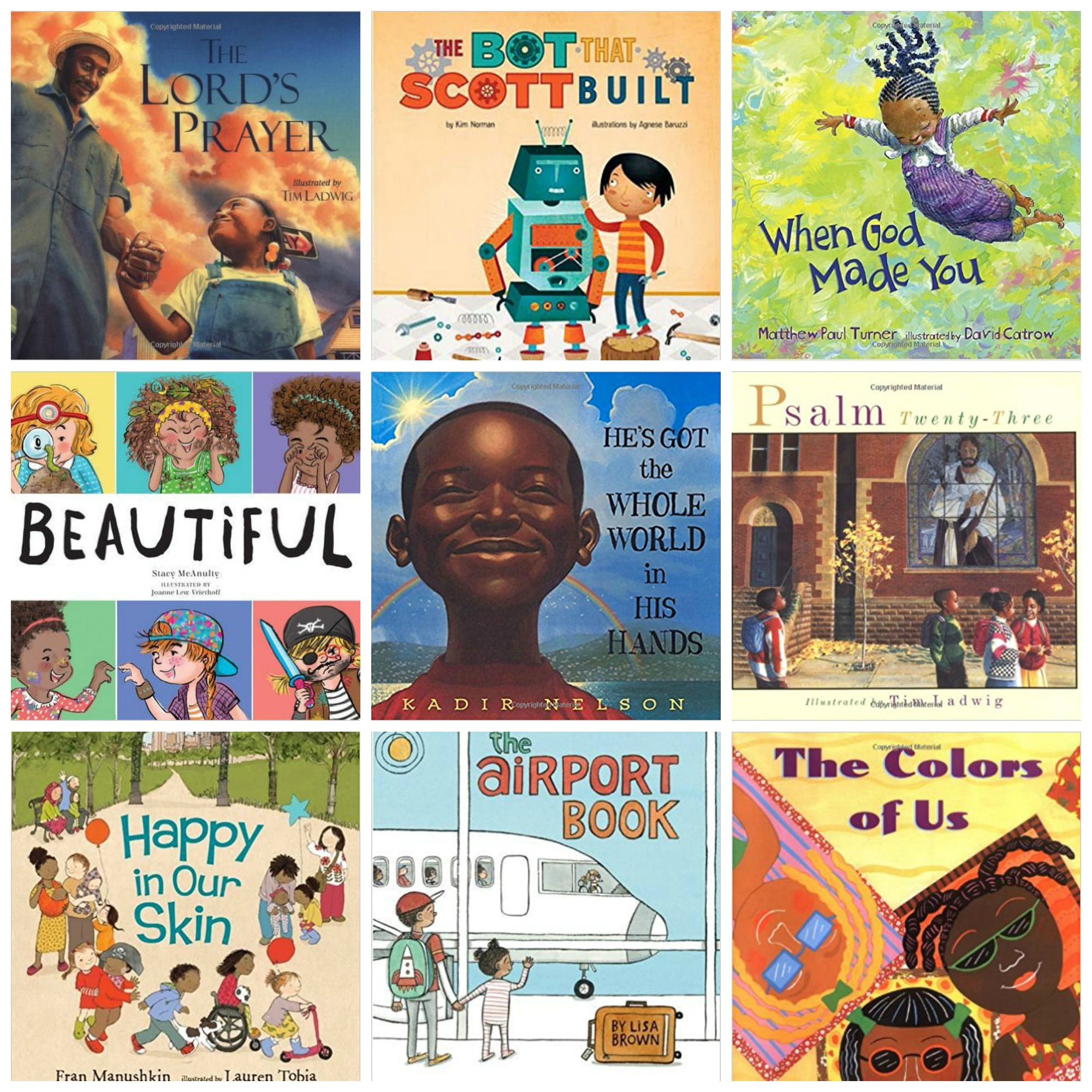 Resources for Talking to Kids about Race, plus 10 Picture Books Featuring People of Color