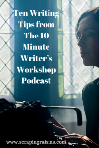 If you are a writer, teacher or student of writing, I would highly recommend this podcast for ideas on finding your own writing flow.