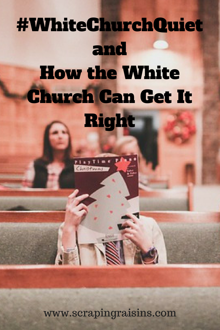 What if the white church was the loudest cry, the longest march and the most insistent voice in the fight for equal justice for every breathing human made in the image of God on this planet?