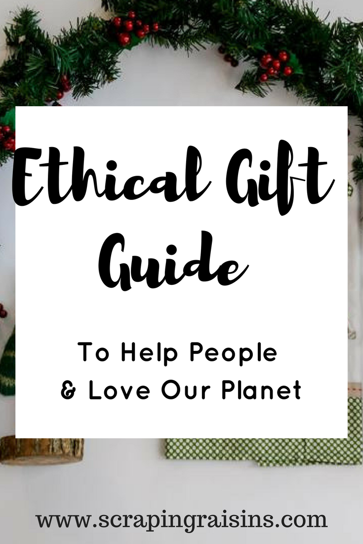 Ethical Gift Guide to Help People and Love Our Planet: Christmas gifts that empower those in poverty and promote sustainable, ethical business practices. Over 20 companies listed!