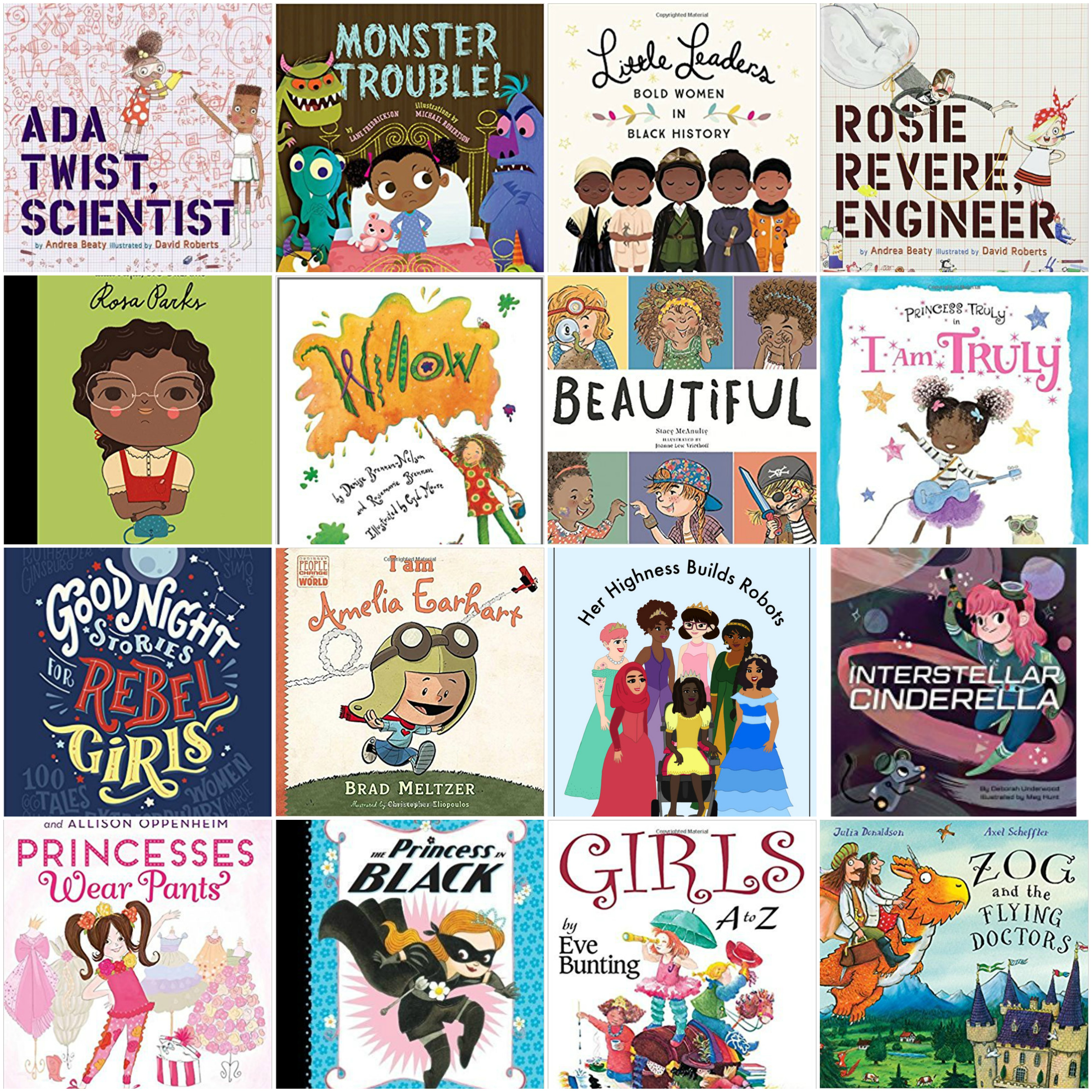 Favorite Picture Books, Etc. for Raising Strong Girls